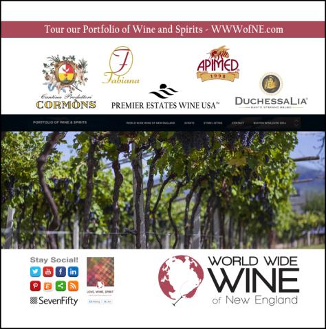 World Wide Wine of NE Signage